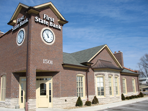 First State Bank off Highway 94 South