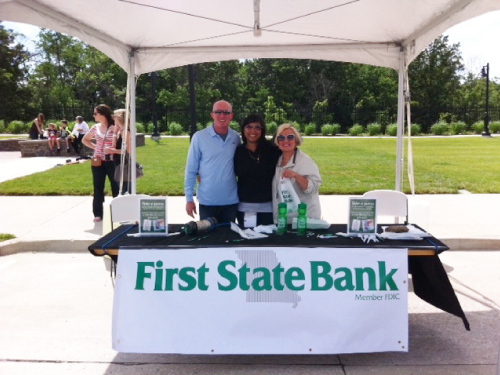 First State Bank Booth