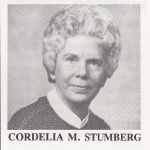 Cordelia M. Stumberg, First State Bank Board of Directors