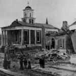 Saint Charles Savings Bank destroyed by tornado