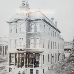 St. Charles Savings Bank, Odd Fellows Hall at 117 South Main Street