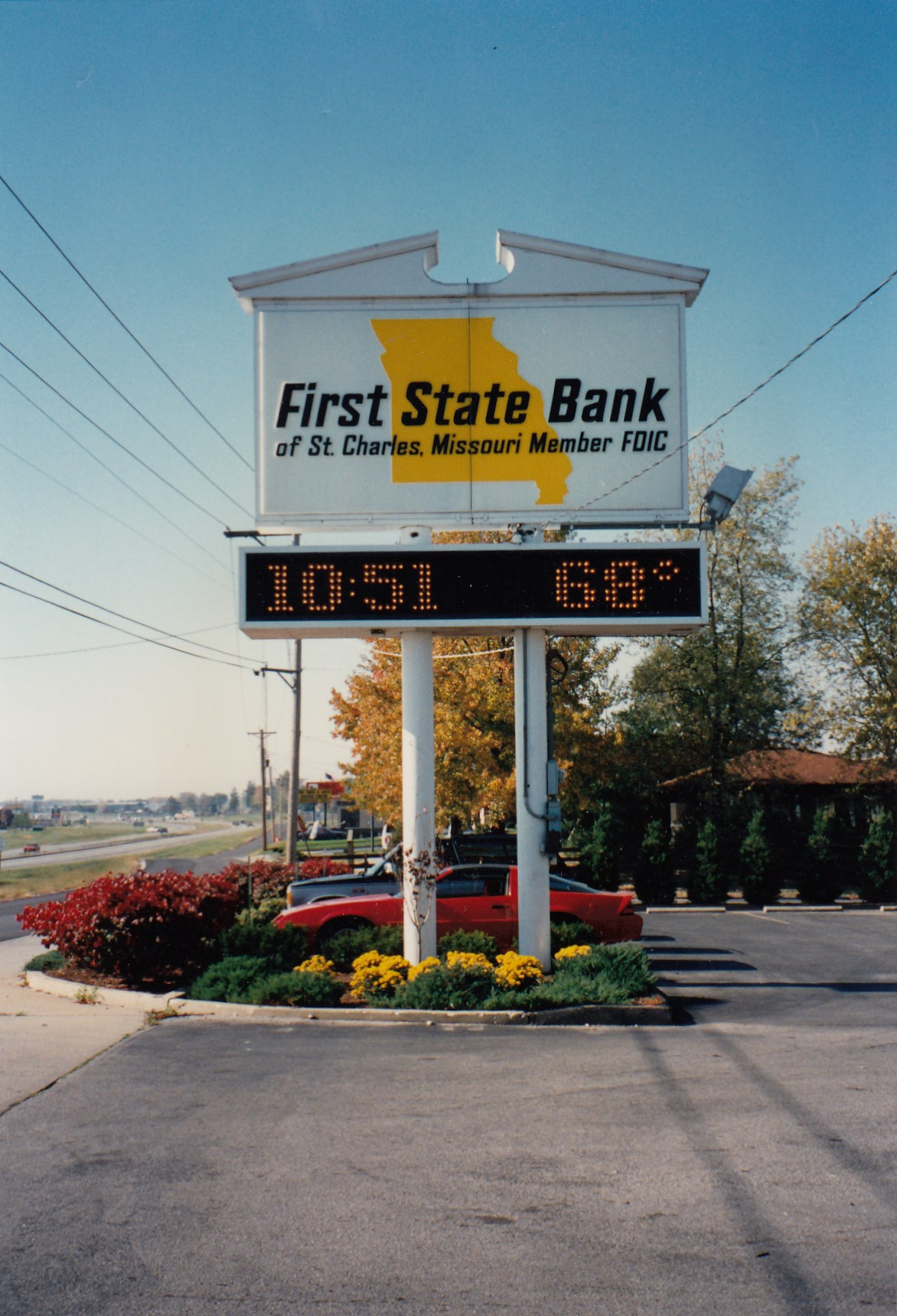 1989: Highway 94 sign