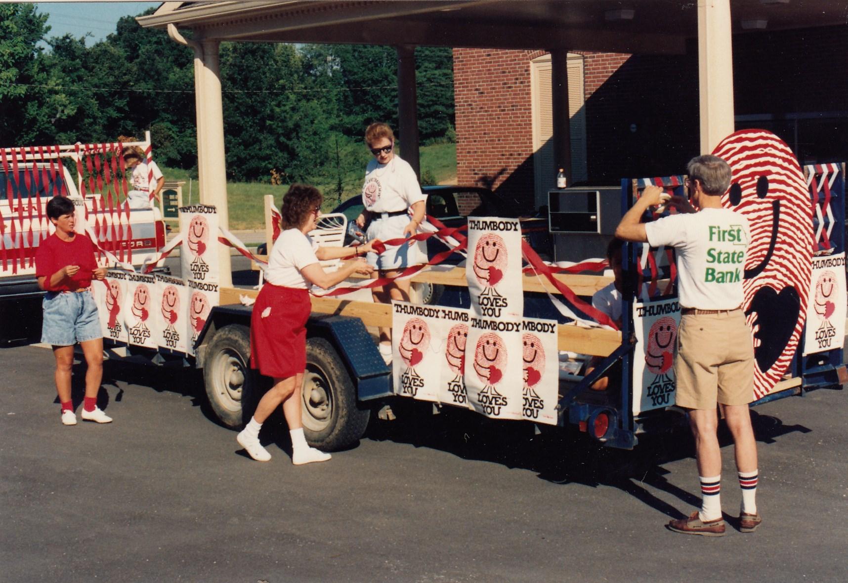 1990: O'Fallon Thumbody Parade Float