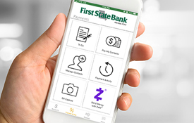Mobile Services   First State Bank St  Charles